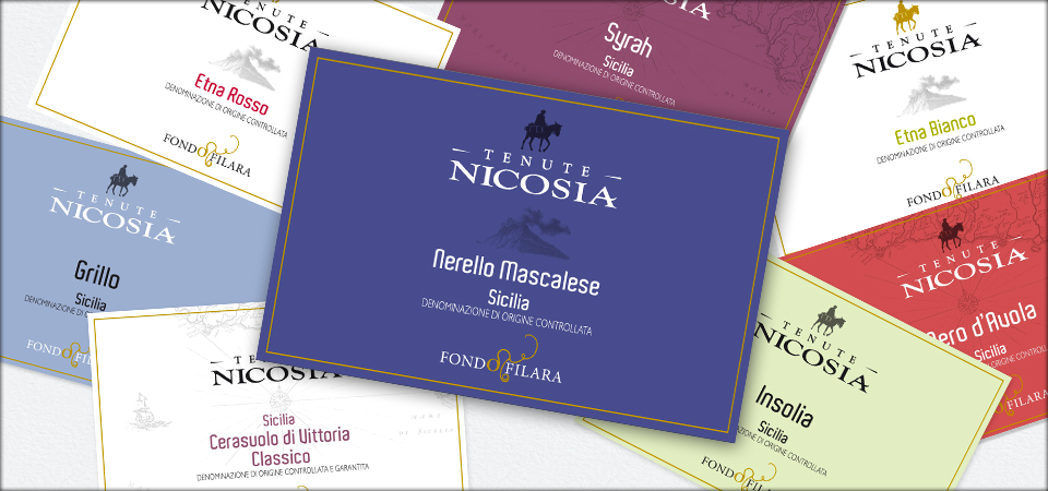 Tenute Nicosia: a makeover for the Etna and Vittoria wines of our top selections