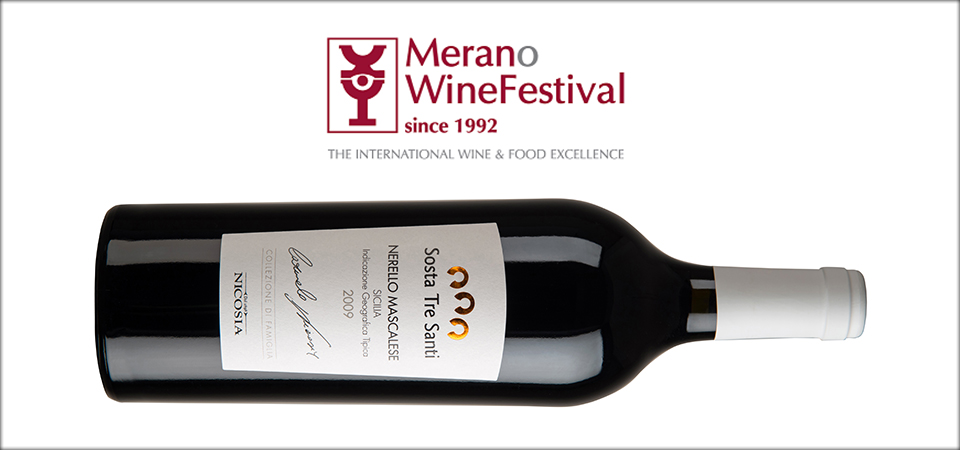 Sosta Tre Santi Nerello Mascalese selected by Merano Wine Festival 2014